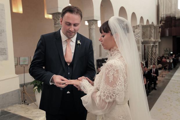 Dramatic Italian Affair Real Wedding Agnese & James (58)