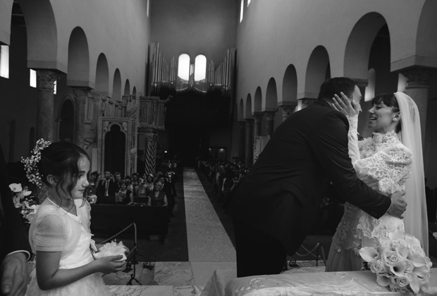 Dramatic Italian Affair Real Wedding Agnese & James (60)