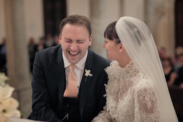 Dramatic Italian Affair Real Wedding Agnese & James (63)