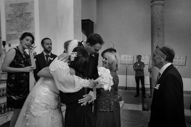 Dramatic Italian Affair Real Wedding Agnese & James (66)