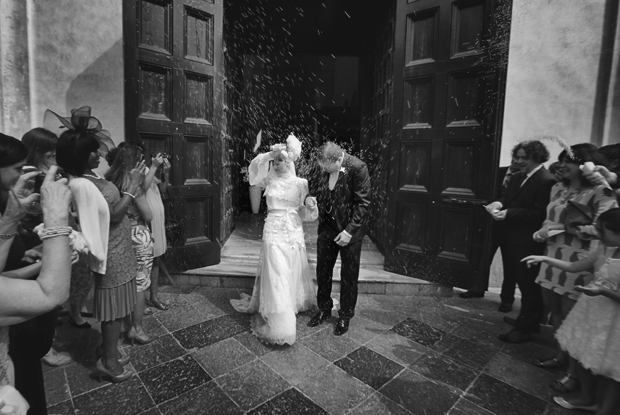Dramatic Italian Affair Real Wedding Agnese & James (68)