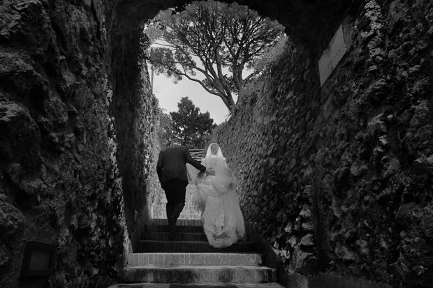Dramatic Italian Affair Real Wedding Agnese & James (80)