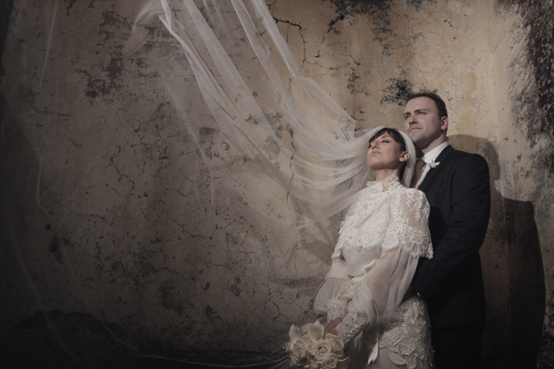 Dramatic Italian Affair Real Wedding Agnese & James (84)