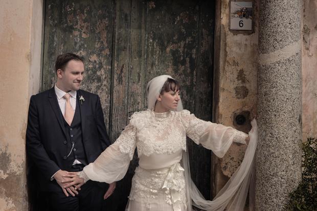 Dramatic Italian Affair Real Wedding Agnese & James (86)