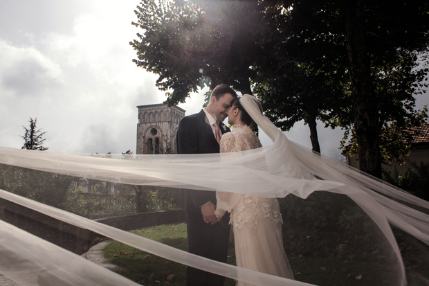 Dramatic Italian Affair Real Wedding Agnese & James (88)