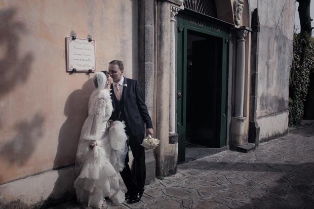 Dramatic Italian Affair Real Wedding Agnese & James (90)