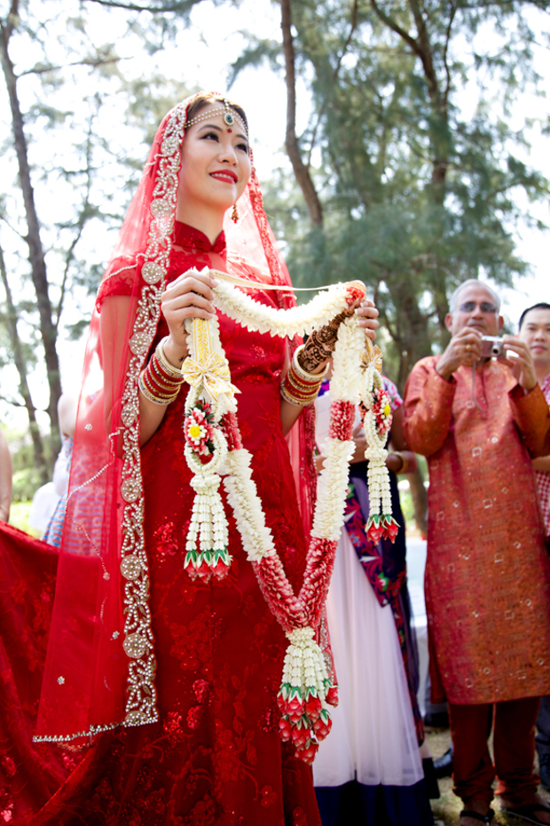 Fusion 'Chindian' Wedding in Phuket Robynne & Aman (11)