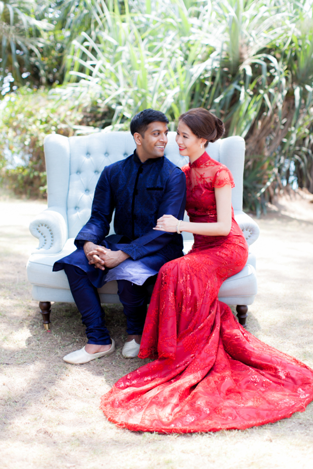 Fusion 'Chindian' Wedding in Phuket: Robynne & Aman