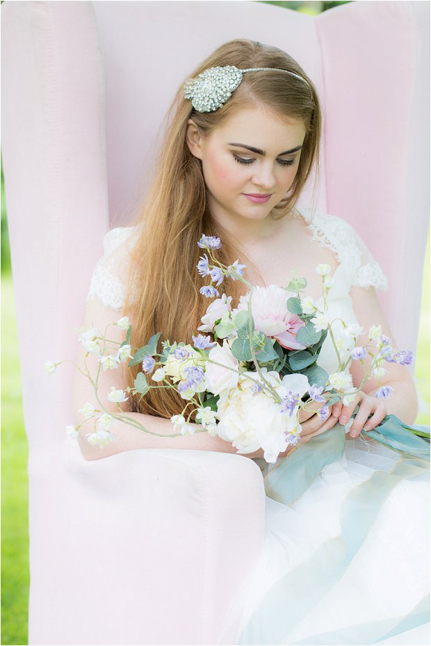 'Love loves to love love'... a romantic, pastel pretty bridal shoot!
