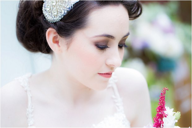 Love loves to love love... a romantic, pastel pretty bridal shoot!