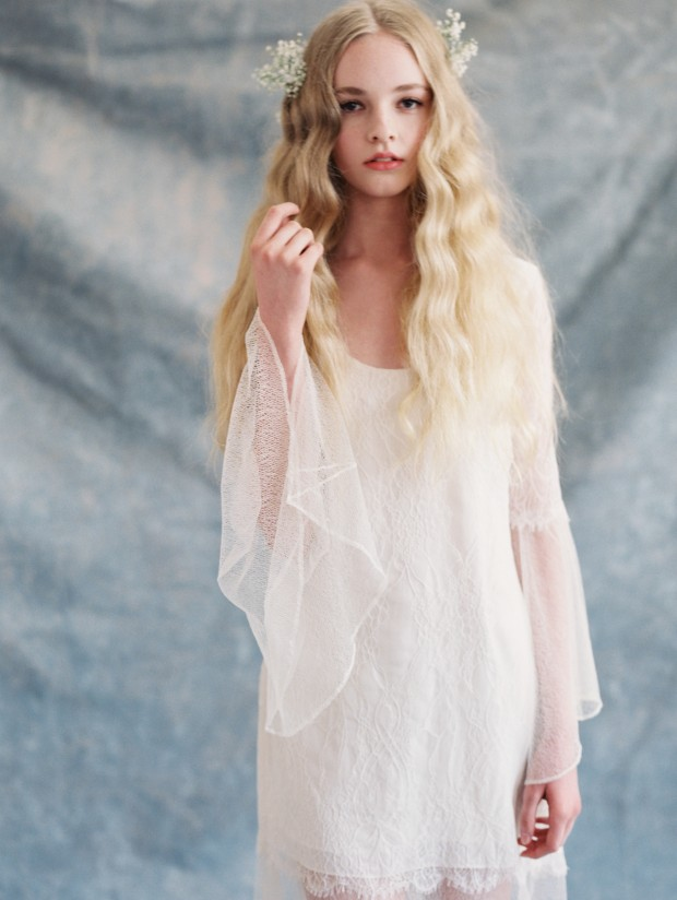 'Romantique ' Low Key & Super Pretty Wedding Gowns by Claire Pettibone