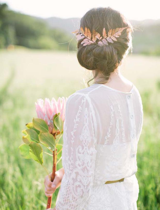Organic Copper Wedding Inspiration: Wedding Colour Ideas