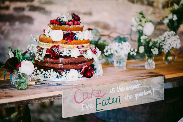 An Organic Style Country Vineyard Wedding With Flashes of Bordeaux: Paddy & Ness