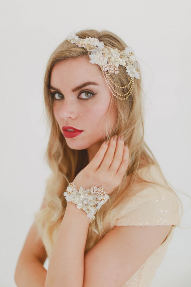 Beyond Gorgeous! Byzantine by Gibson Bespoke: Beautiful Bridal Accessories