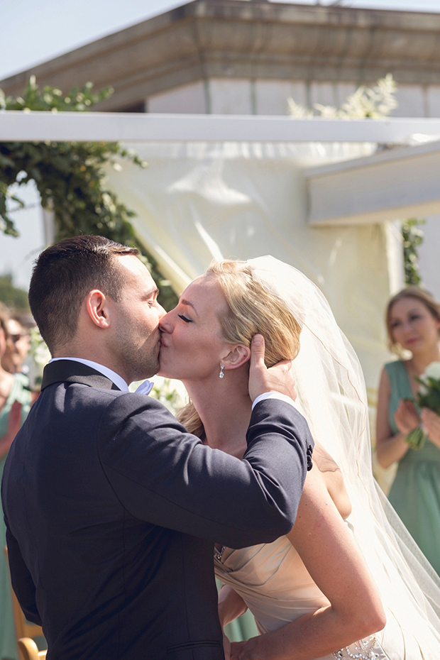 A Villa Cora, Florence, Italy Real Wedding With Gold & Sage: Hayley & Joe