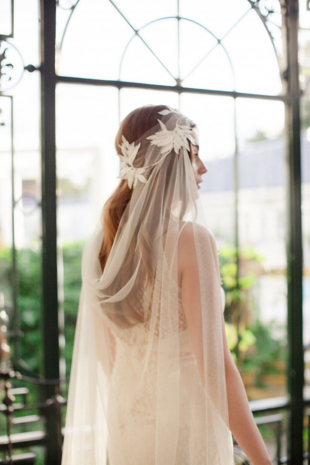 Ode to Scandinavia! The Jannie Baltzer 2016 Bridal Headpiece & Veil Collection