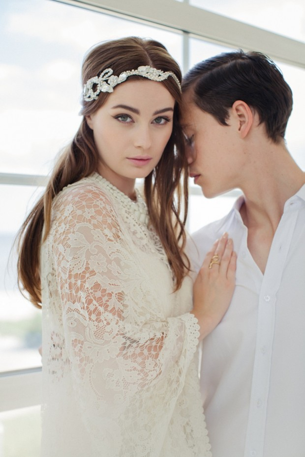 Ode to Scandinavia! The Jannie Baltzer 2016 Bridal Headpiece Collection