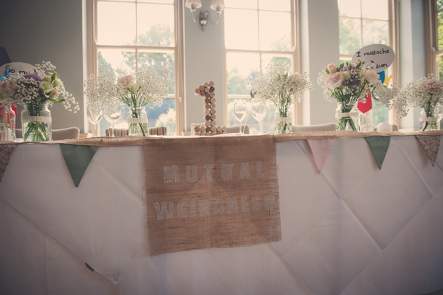 Mutual Weirdness 'Tinder' Wedding With Vintage Vibe: Sean & Freya