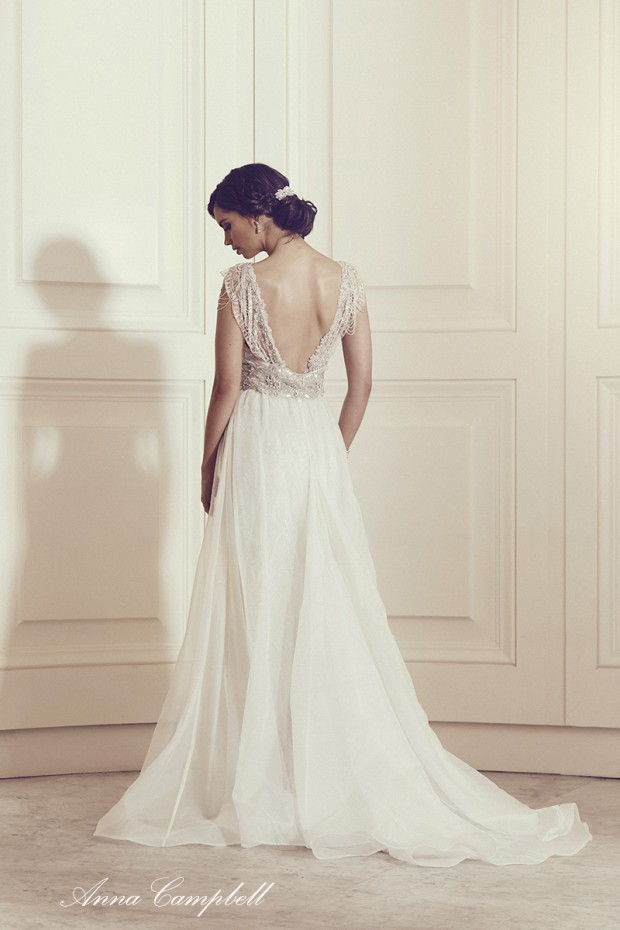 French Romance Inspired Wedding Gowns: The Anna Campbell 'Gossamer' Collection