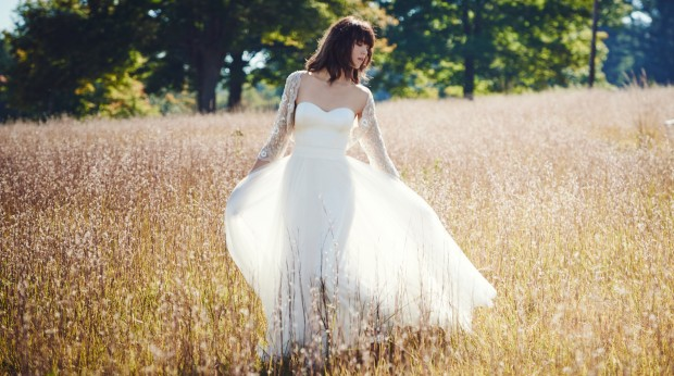BHLDN Wedding Dresses: By Amber Light! Glass Chapel Editorial