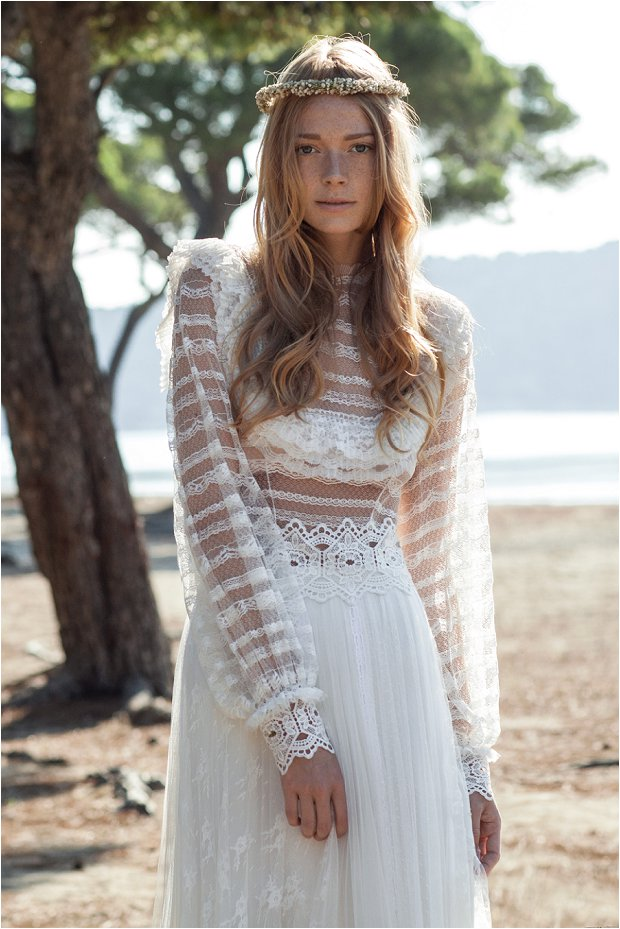 The Costarellos Bride Romantic Chic Wedding Gowns For The Bohemian