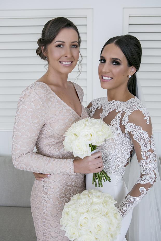 A Lace Loving, Berta Bridal Inspired Bride: Michelle & Adam