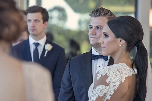 A Lace Loving, Berta Bridal Inspired Bride: Michelle & Adam