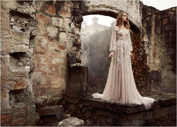 The Nightingale! The Stunning Paolo Sebastian Spring / Summer 2015 Bridal Collection