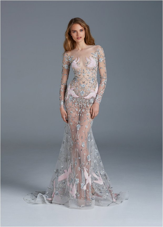 The Nightingale! The Stunning Paolo Sebastian Spring / Summer 2015 Bridal Couture Collection