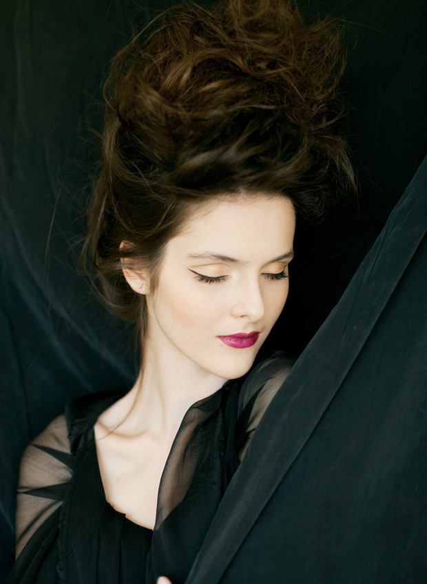 Beautiful & Mysterious Black Boudoir Shoot!