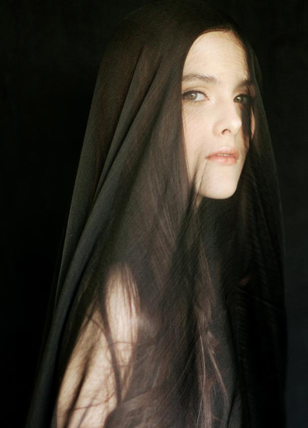 Beautiful & Mysterious Black Boudoir Shoot!