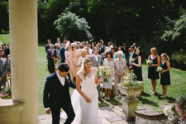 Pretty, Relaxed Rockley Manor Wedding With Muted Wild Flower Florals: Errol & Emma