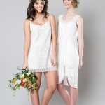 Stylish White Bridemaid Dresses: Captivating Bridesmaids by Sally Eagle
