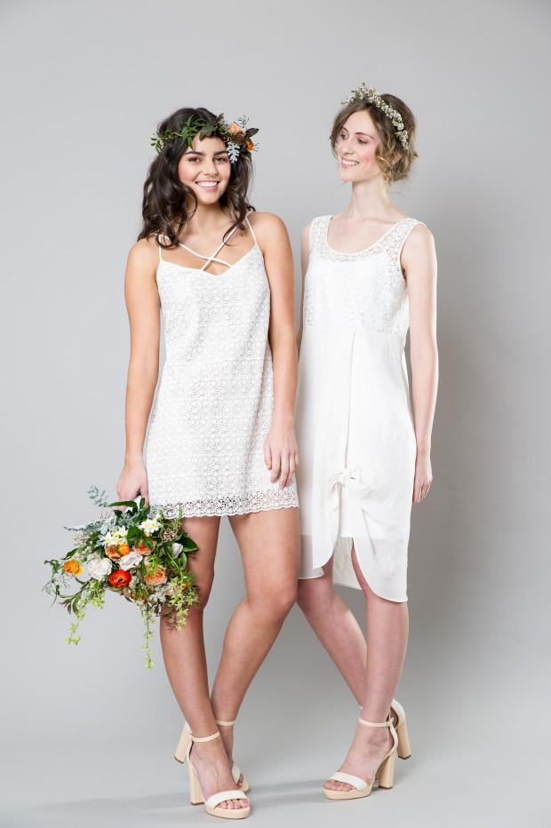 Stylish White Bridemaid Dresses Captivating Bridesmaids by Sally Eagle (3)