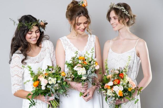 Stylish White Bridemaid Dresses Captivating Bridesmaids by Sally Eagle (4)