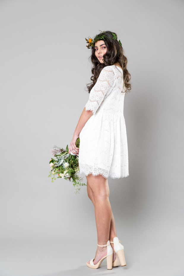 Stylish White Bridemaid Dresses Captivating Bridesmaids by Sally Eagle (5)