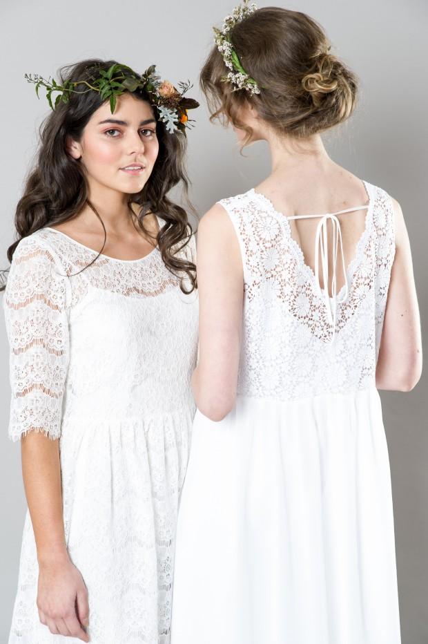 Stylish White Bridemaid Dresses Captivating Bridesmaids by Sally Eagle (6)