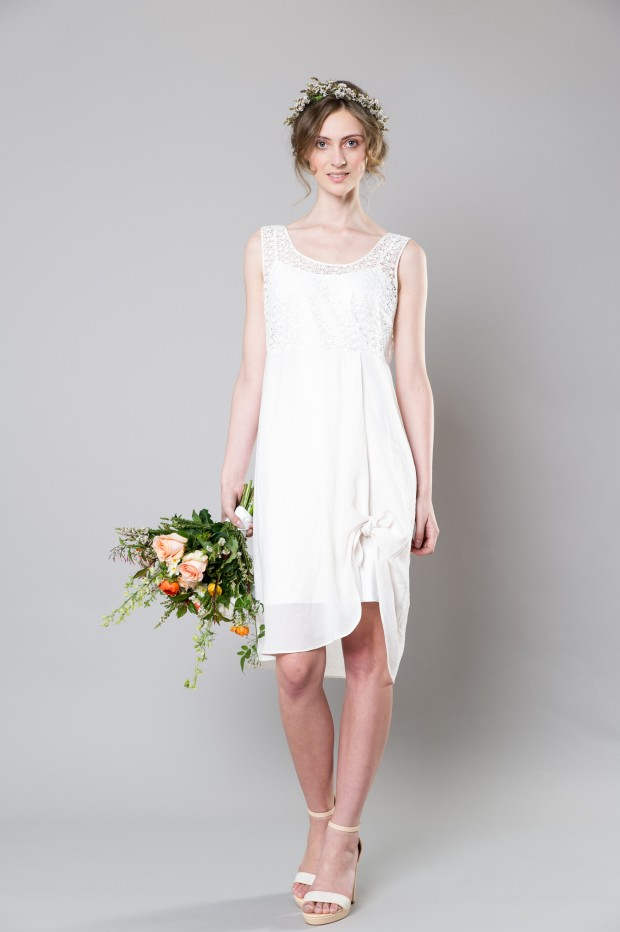 Stylish White Bridemaid Dresses Captivating Bridesmaids by Sally Eagle (8)