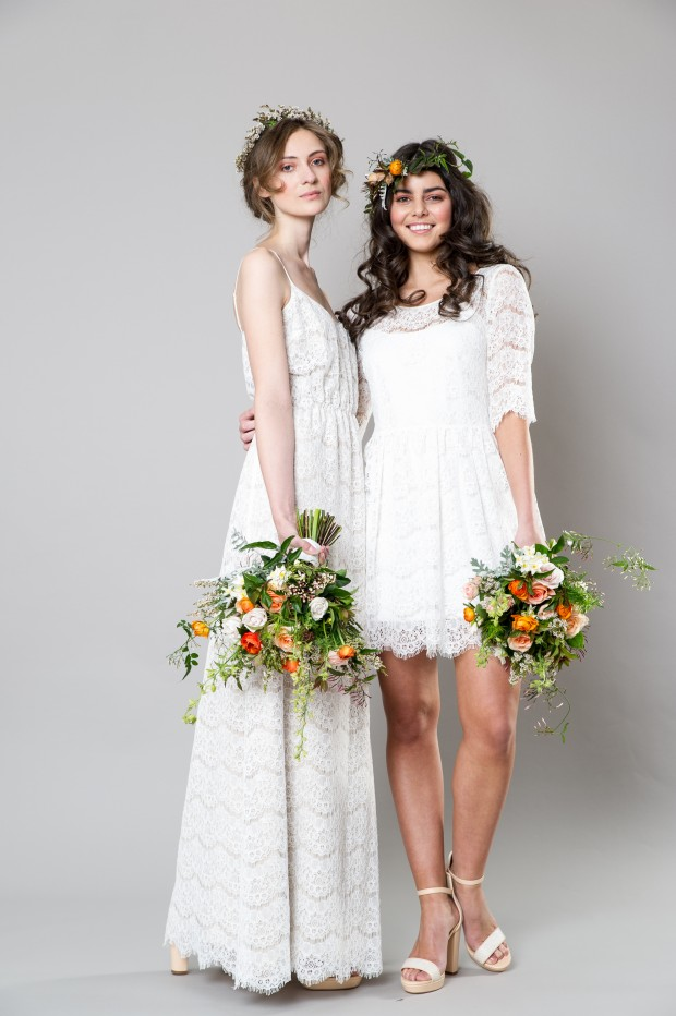 Stylish White Bridemaid Dresses Captivating Bridesmaids by Sally Eagle (9)