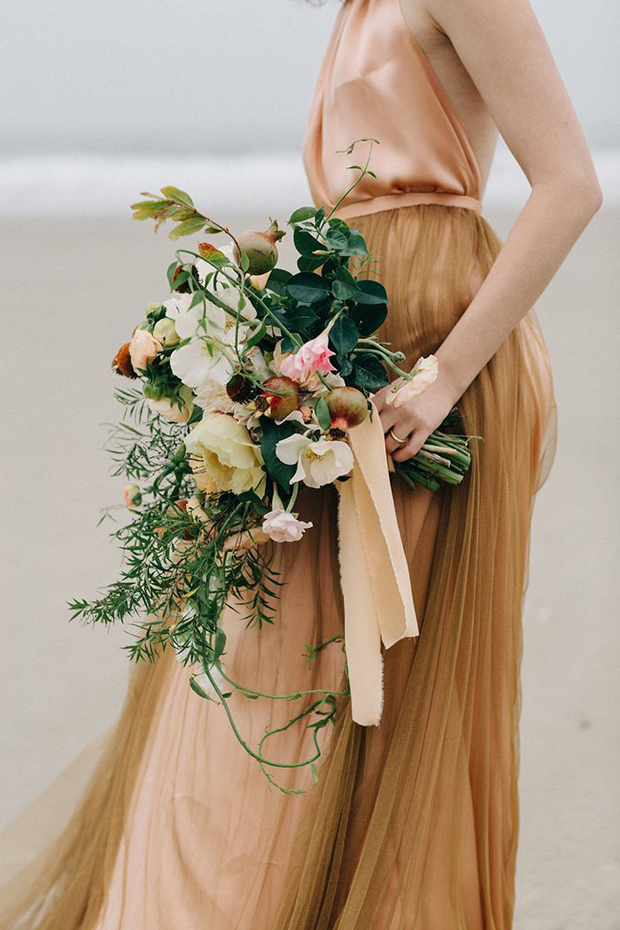 Autumn inspired caramel blush wedding inspiration ideas for Fall wedding bouquets for sale