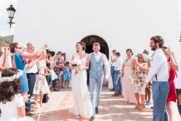 Romantic Blush Pink Ibiza Wedding for a House Music Lovin' Couple: Claire & Jonny