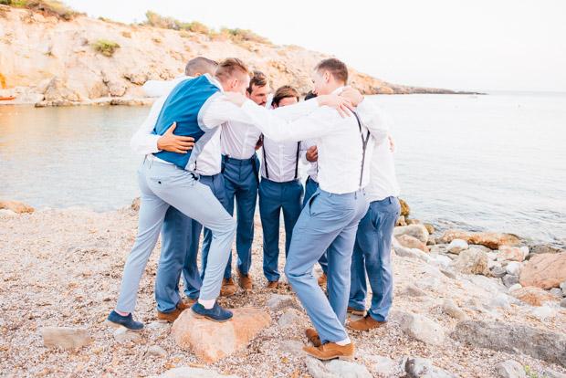 Romantic Blush Pink Ibiza Wedding for a House Music Lovin' Couple: Claire & Jonny