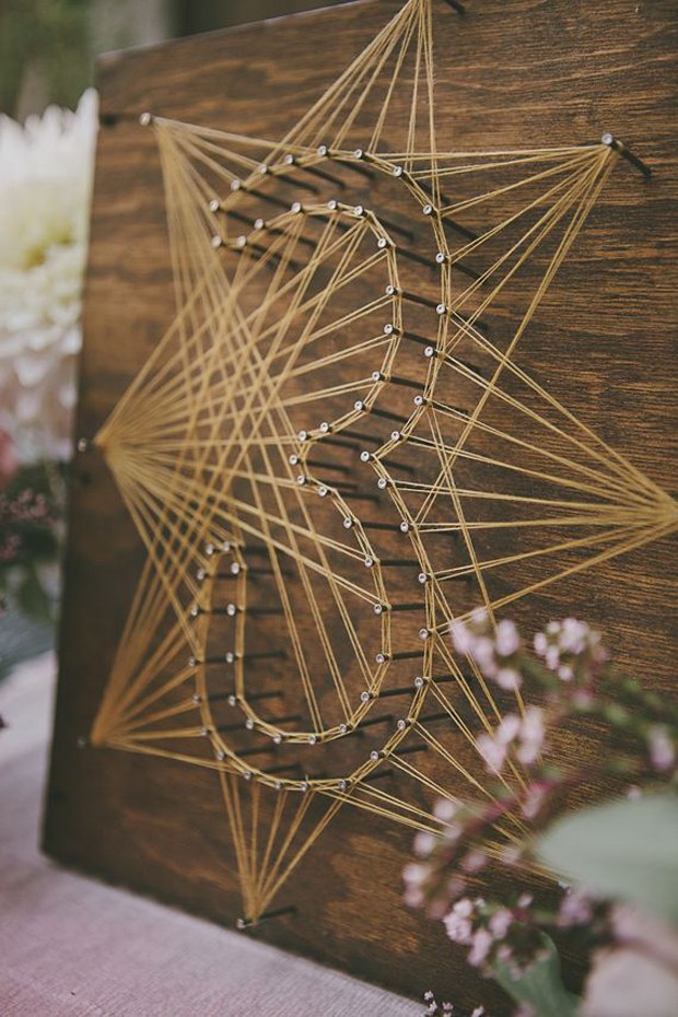 Creative Wedding Ideas: 6 Super Sweet DIY String Art Wedding Decor ...