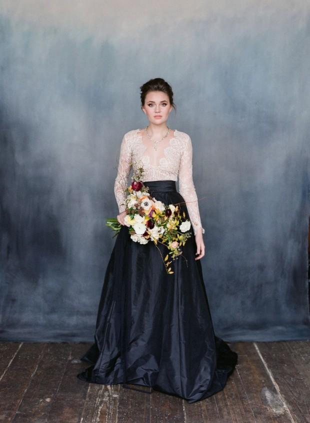 Smoky Quartz & Gold Wedding Inspiration