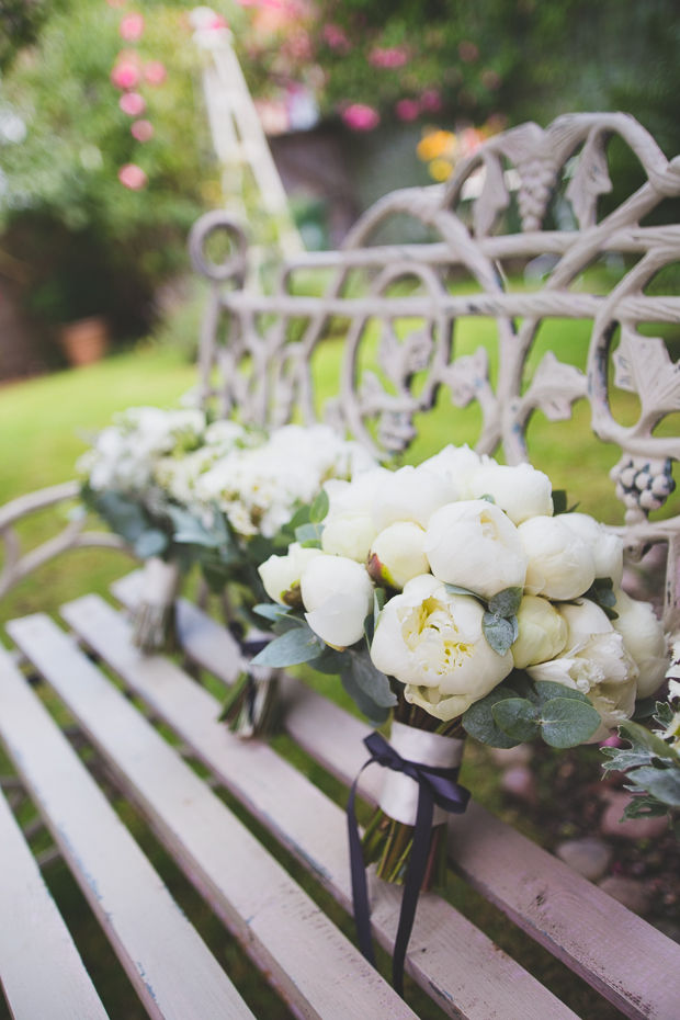 A Timeless White Peonies Wedding at the In & Out Navel & Military Club: Emma & Christian