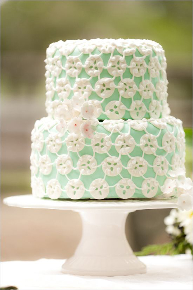 Mint Green & Sea: Wedding Inspiration Colour & Ideas