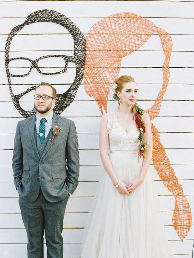Creative Wedding Ideas: 6 Super Sweet DIY 'String Art' Wedding Decor Ideas!