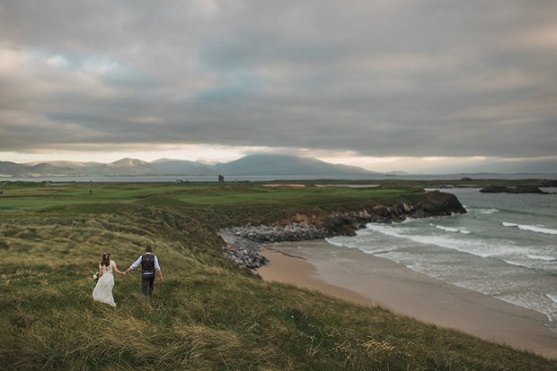 A Wild Atlantic, Harbour Wedding With Celtic Charm: Anita & Martin