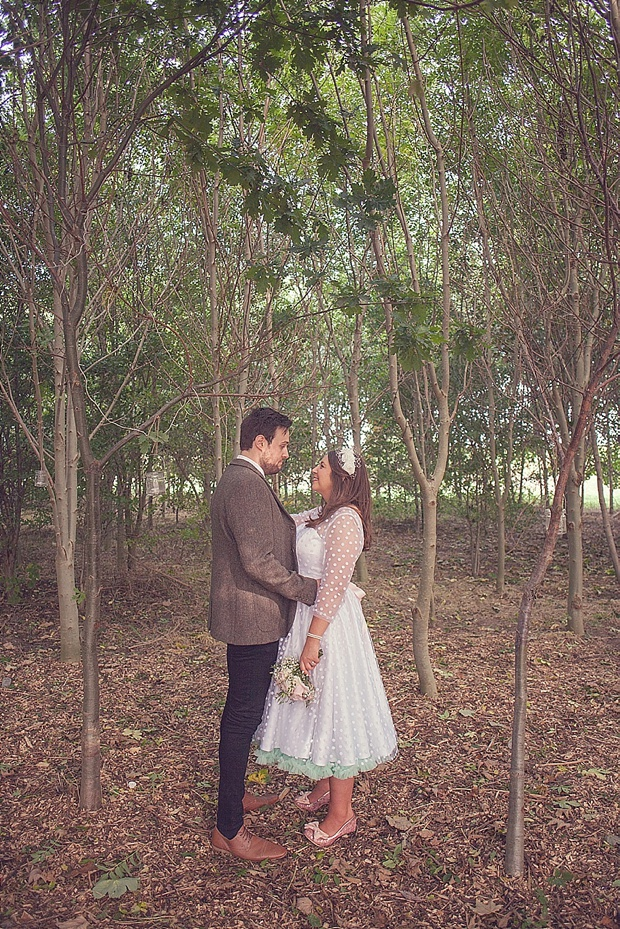 Kooky Pastel Pink & Mint Tipi Wedding With Lanterns & Bunting: Natalie & Tom
