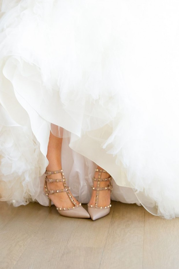 Valentino Gold Wedding Shoes
